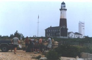 Montauk Point Clean Up 2003