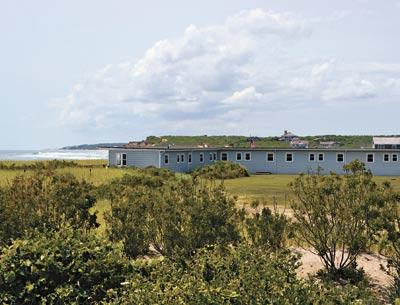 The East Deck Motel, long a visual cornerstone of Ditch Plain, is about to be converted into a private membership beach club, according to plans submitted to the East Hampton Town Planning Board. T.E. McMorro