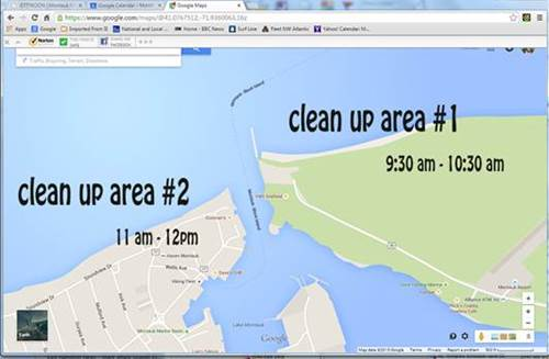 Montauk Yacht Club Beach Cleanup