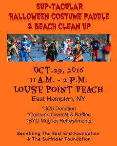 Halloween Costume Paddle Poster