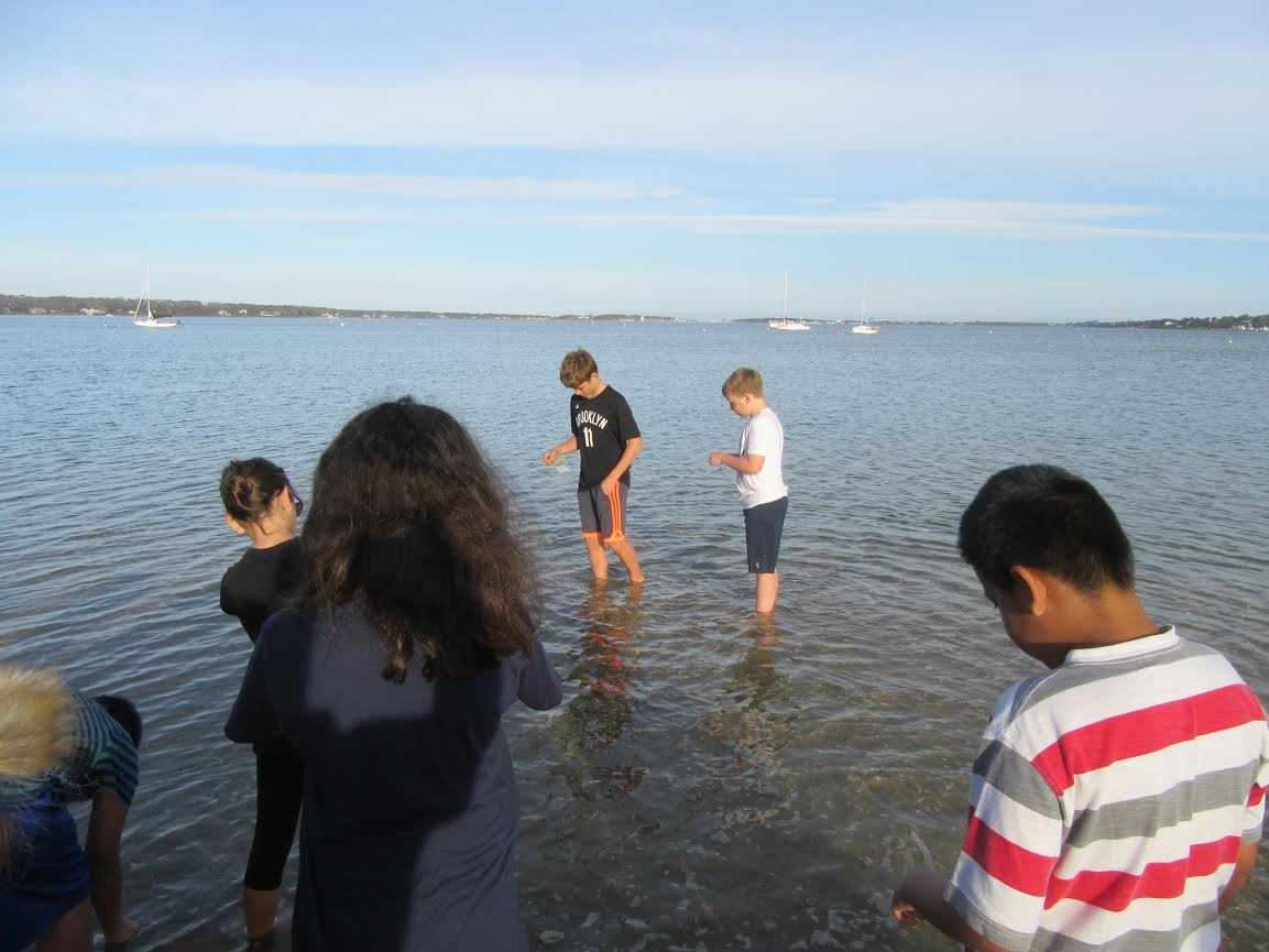 A Break from the Classroom: Montauk School 5th Graders